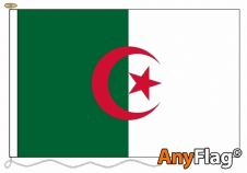 - ALGERIA ANYFLAG RANGE - VARIOUS SIZES